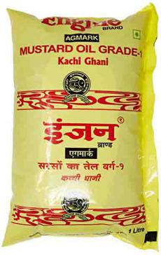Engine mustard oil 1ltr pouch