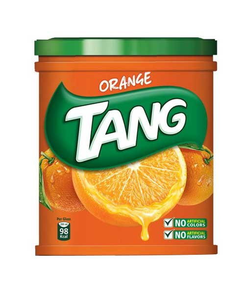 Tang Orange 100g x 4pack ( in a Plastic box )